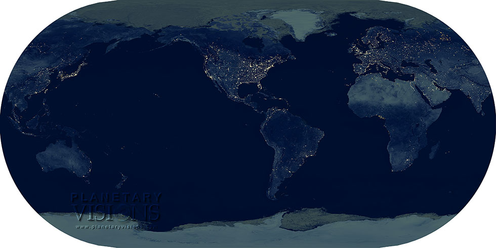Time world map centred on north america night time world map centred on north america gumiabroncs Images